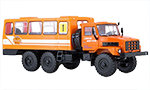 Bus-truck Vaht on Ural-4322 Chassis