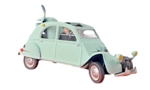 "Citroën 2CV from  ""The Castafiore Emerald"""