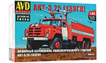 Fire engine AKT-3,25 (ZIL-133GJa) Die-cast Model Kit