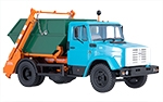 Garbage truck KO450 with container (ZIL-4333)