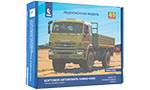 KamAZ-43502 flatbed truck (facelift) 1997. Die-cast Model Kit