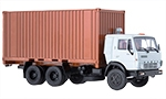 KamAZ-53212 with 20ft. container