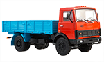 MAZ-5337 flatbed truck