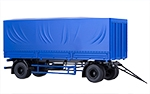 MAZ-83781 trailer with tent