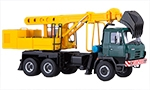 Truck with excavator UDS-114A (Tatra 815)