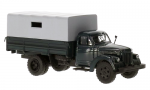 UralZIS-355M,1958 flatbed truck with tent