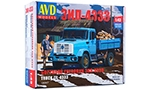 ZIL-4333 flatbed truck. Die-cast Model Kit