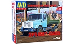 ZIL-MMZ-45085 dump truck. Die-cast Model Kit