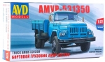 AMUR-531350 Flatbed Truck. Model Kit