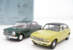 Austin Allegro 1300SD in Citron and an Austin 1800 MK2