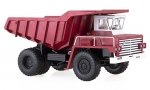 BelAZ-540 Heavy Soviet Dump Truck (exhibition version)