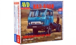 KAZ-608V tractor truck. Die-cast Model Kit