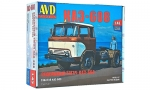 KAZ-608 tractor truck. Die-cast Model Kit