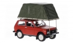 Lada Niva ( Vaz-2121 ) With Roof Tent (с палатка) 1981
