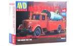 MAZ-200 (AGVT) Fire Engine. Die-cast Model Kit