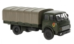 MAZ-5334 flatbed truck with tent