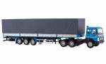 MAZ-6422 tractor truck with MAZ-9758 semitrailer