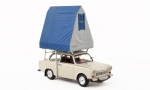 Trabant 601S, with roof top tent 1980