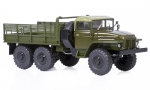 Ural-375 flatbed truck, soft roof