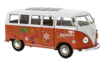 VW T1 Bus, 1963, Flower Power