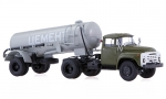 ZIL-130V1 with semitrailer TC-4 cement