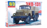 ZIL-131 Flatbed Truck. Model Kit