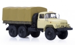 ZIL-131 flatbed truck with tent, 1966