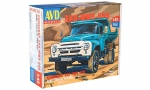 ZIL-MMZ-555 dump truck. Die-cast Model Kit